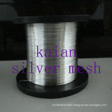 Hot sale Pure Sliver Wire For Battery / electro 30 years factory