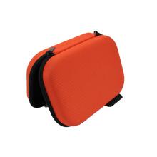 Étui de transport pour écouteurs en nylon dur personnalisé avec tirette en métal