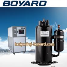 Zhejiang negro ac dc compresor de aire unidad de refrigeración de aceite