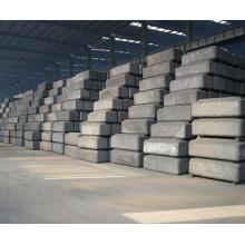 Anode de carbone en aluminium précuite (au lieu de coke de fonderie)