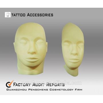Peau de pratique de tatouage adaptée à la machine à tatouer et au stylet de tatouage