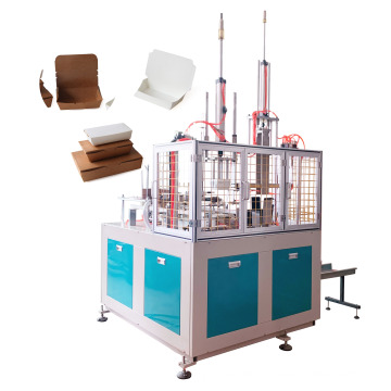 Party paper lunch container making machine with hydraulic press new technology China supplier with CE certificate model SPT500Y