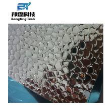 Hoja de aluminio en relieve de 6061 t6 calidad aeronáutica para el congelador de cofres