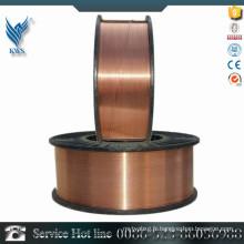 Fil en acier inoxydable revêtu de cuivre de haute qualité