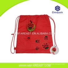 Hochwertige kundenspezifische neue hübsche Einkaufen faltbare Nylontasche