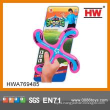 Hot Sale Kids Outdoor Set X Model Plastic Frisbee Toy