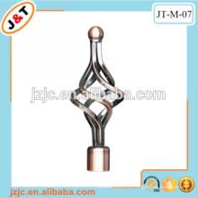 Direkte Fabrik in Hangzhou AC Eisen Vorhang Stange mit heißen Verkauf Endkappen