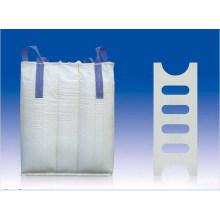 PP Woven FIBC Baffle Big Bag para embalagem de mandioca