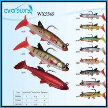 Wx5565 tous les types de matériel de pêche au leurre souple en plomb avec OEM
