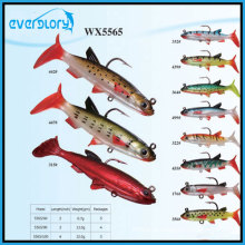 Wx5565 Todos os tipos de equipamento de pesca de isca macia de chumbo com OEM