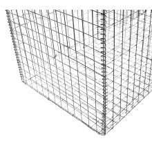 Сваренная Корзина gabion для стены, используя