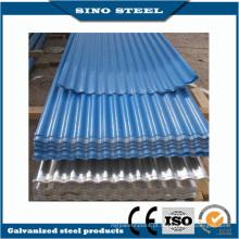 Revestimento de cor RAL onduladas para telhados de chapa de aço com CE aprovado
