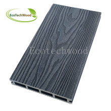 Popular & Cheap Embossed WPC Decking for Swimming Pool