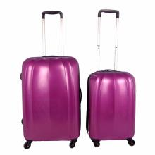Leisure Elegant Purple PC Trolley Luggage Set
