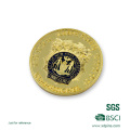 Newly Gold Plated Police Challenge Coin