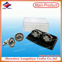 Souvenir Cufflinks with Plastic Box