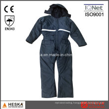 Mens PVC Wear Padded Winter Work Coverall