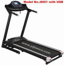 Household Folding Motorised Treadmills With USB