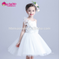 Hot sell korea style on sale princess baby girl dress layered spaghetti strap floral baby girl dress patterns