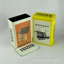 Fancy personalizado impreso barato redondo de té de estaño al por mayor