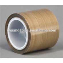 A fita adesiva a mais vendida do mercado no mercado asiático 2016 PTFE revestiu a fita da fibra de vidro com um adesivo lateral
