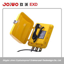 ip66 explosion proof blast proof telephone with telephone box