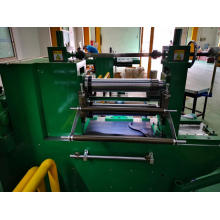 Precision linear bearing slitting machine