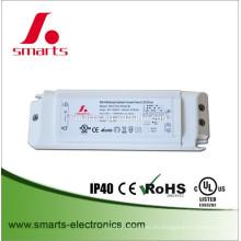 DALI atenuable fuente de alimentación constante del conductor del reflector de 500mA 15w LED con CE UL enumerado