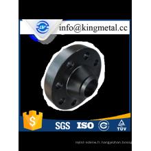 Bride de cou de soudure acier au carbone ANSI B16.5 classe 150