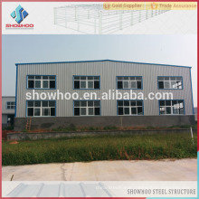 low cost industrial galvanized pre engineered steel buildings two storey office building steel structure