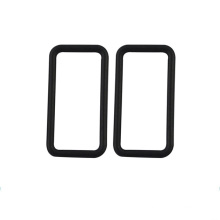Anillo de sello de goma rectangular