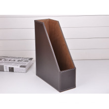 A4 Brown PU Leather File Holder