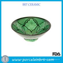 Ensaladera de cerámica con hermoso diseño