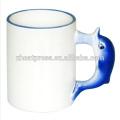 Animal Mug DIY gift wholesale for printing/cute/personal