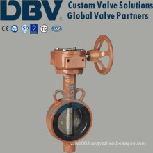 Wafer Type Worm-Gear Soft Sealing Butterfly Valve