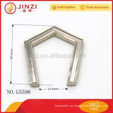 Accesorio de metal para el bolso, hardware de Guangzhou para la decoración del bolso