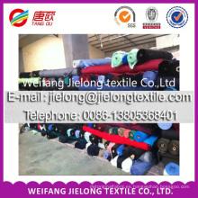 Ventilador algodón bastante spandex barato taladro tela stock para la ropa en weifang
