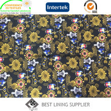 Fashion Print Style Garment Lining Fabric China Supplier