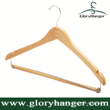 Para Hotel Curved Wooden Hanger for Garment