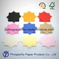 Яркая цветная бумага для дерева
