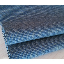 Slub Cotton Yarn Dyed Woven Fabric For Pants