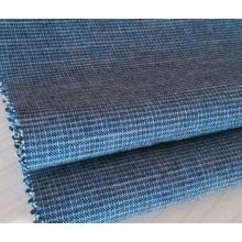 Tissu tissé teint par fil de coton de flocon pour des pantalons