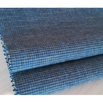 Slub Cotton Yarn Dyed Woven Fabric For Pants