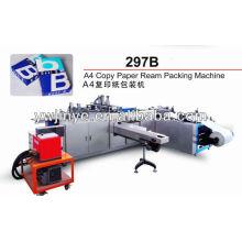 A4 copiar máquina de envolvimento & máquina de empacotamento (tipo da tampa do rolo)