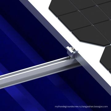 Металлическую Крышу Солнечные L-Ноги Комплект С Винт Бурения Солнечные Панели Крепление