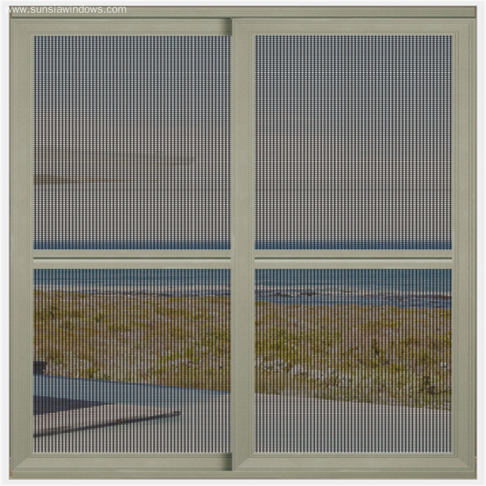 Aluminum Sliding Security Screen Door