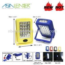 BT-4578 Portable Adjustable SMD Bulb Magnetic Work Light