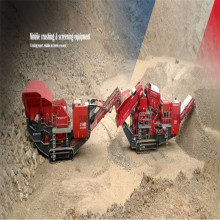 Movable Glad Ore Quartz Stone Crusher Plant