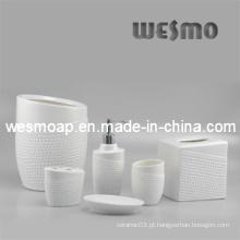 Porcelana Top-Grade / Stlyle do golfe Acessórios cerâmicos do banheiro