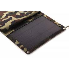 Bolso plegable del cargador del teléfono de la energía móvil solar 12W de la fábrica de ISO